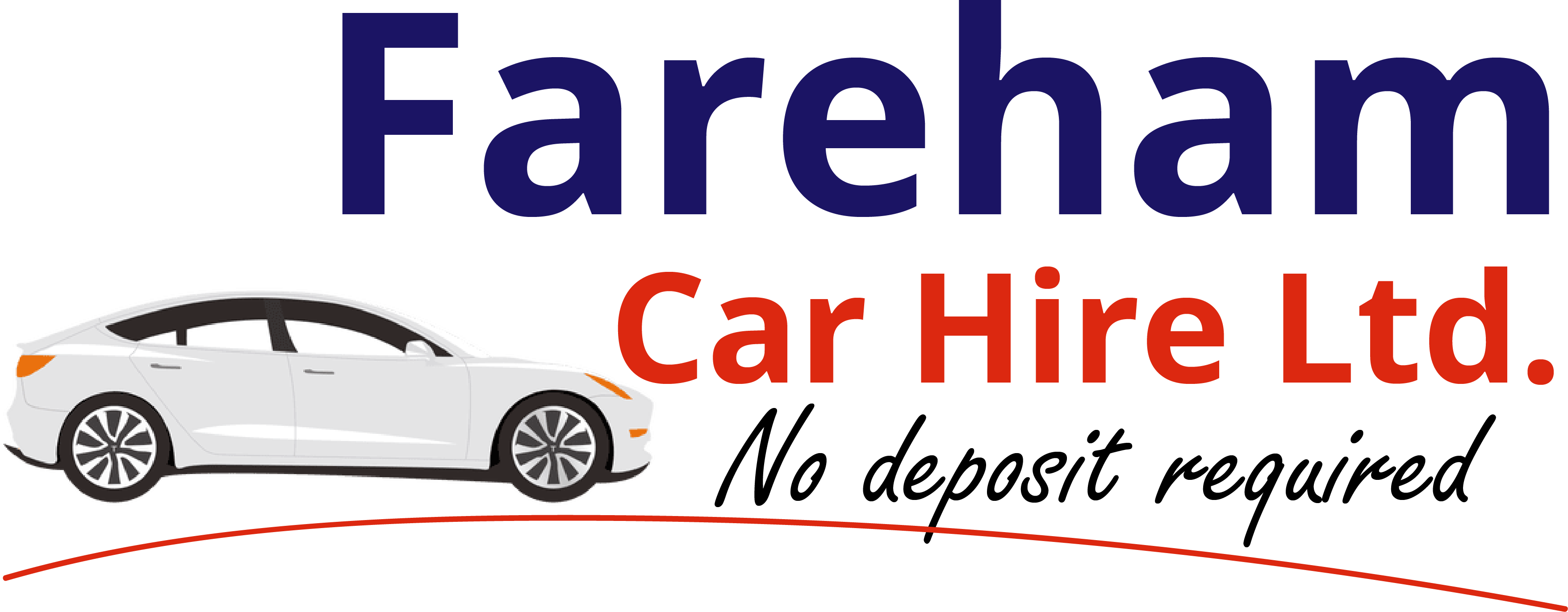 Fareham Car Hire Logo Capitalized